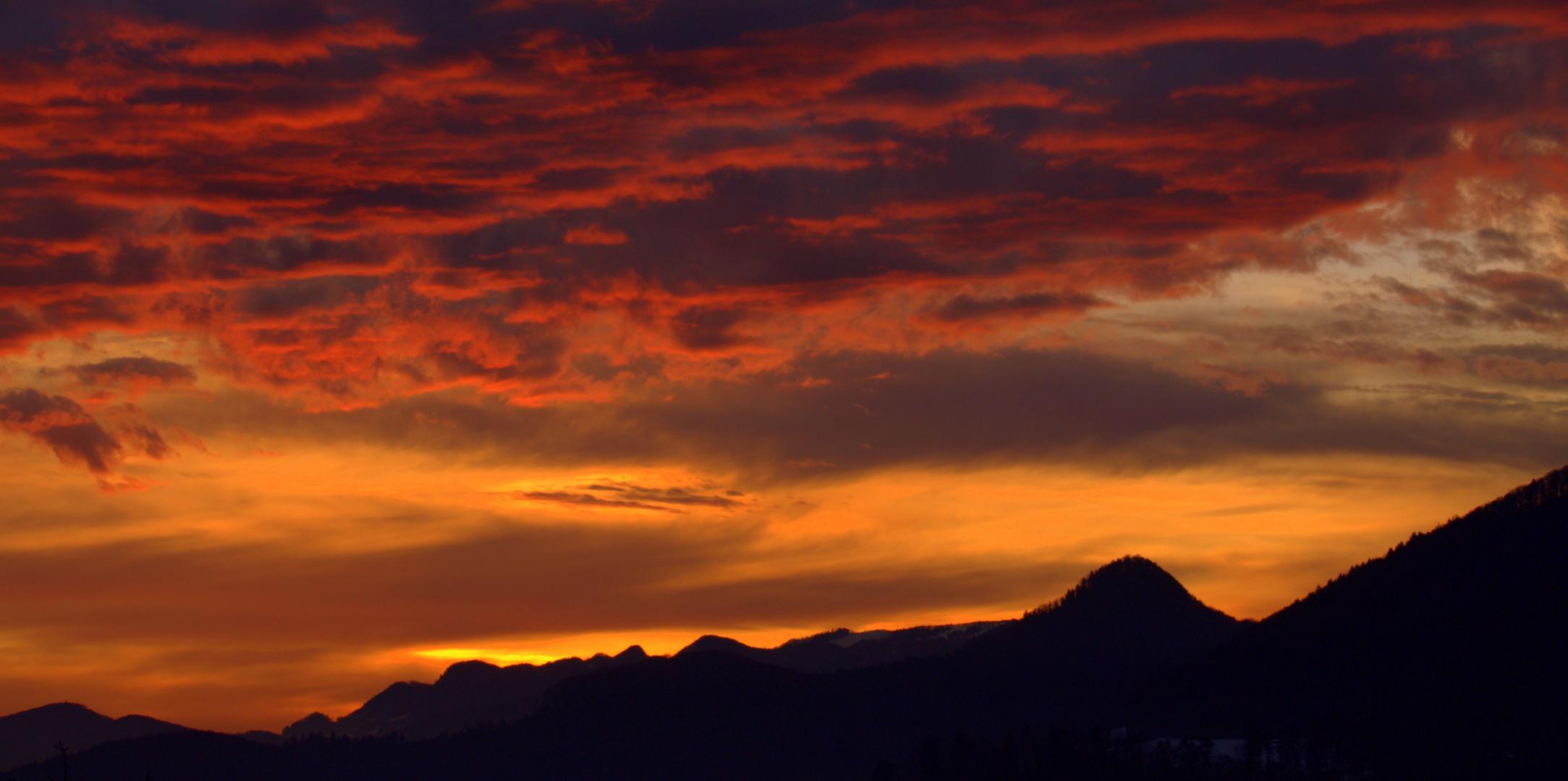 Sonnenaufgang phasen