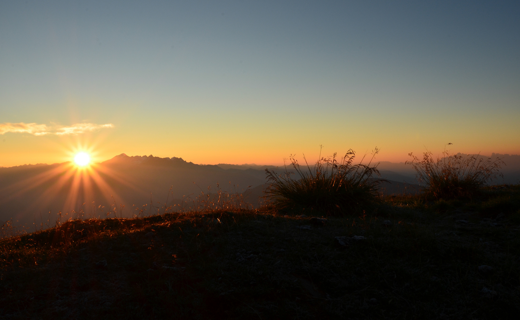 Sonnenaufgang Reisnock
