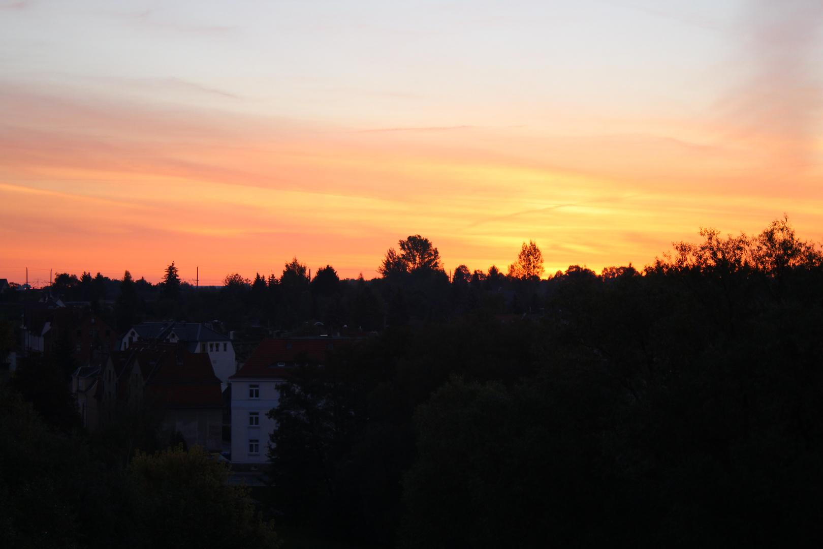 Sonnenaufgang Sonntags 7:00 Uhr