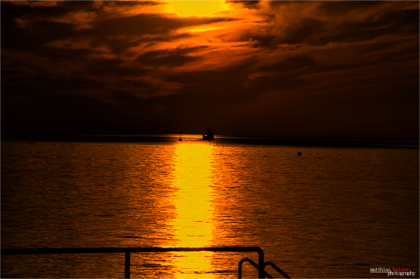 Sonnenaufgang-Strand