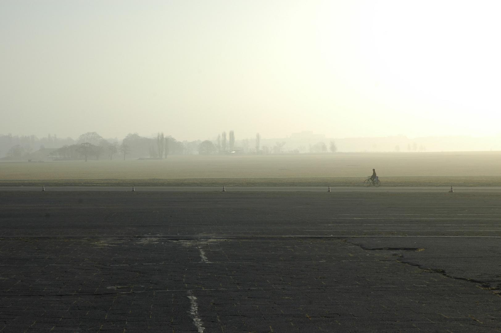 Sonnenaufgang Tempelhofer Feld