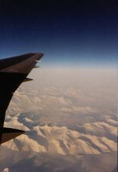 Sonnenaufgang über Alaska