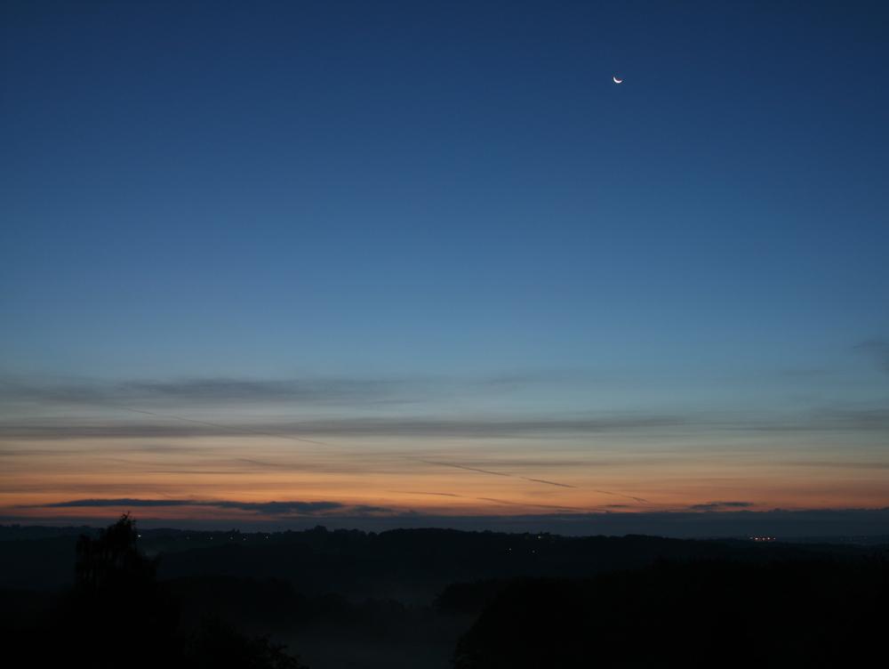 Sonnenaufgang über dem Gelpetal