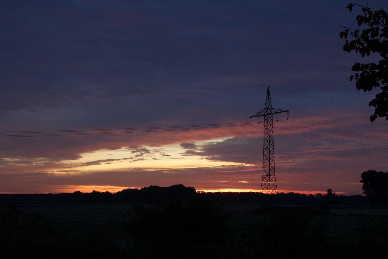 Sonnenaufgang über dem Havelland