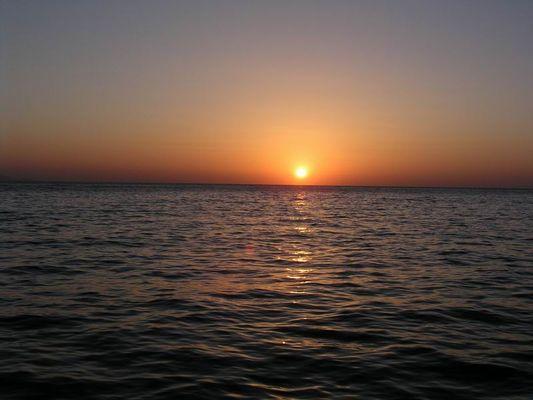 Sonnenaufgang über dem roten Meer2