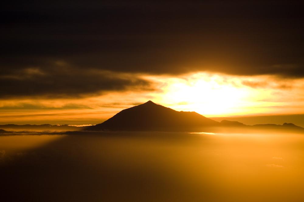 Sonnenaufgang über dem Teide