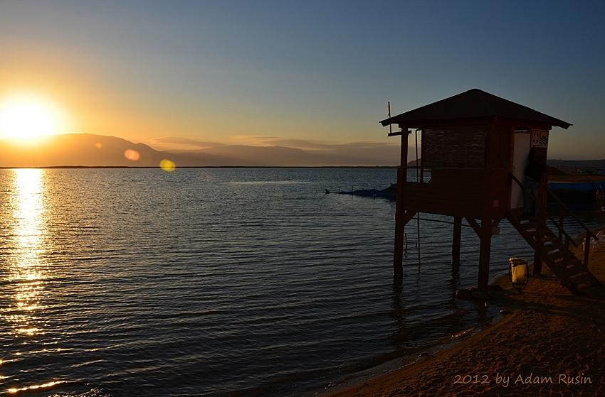 Sonnenaufgang über dem Toten Meer - Israel