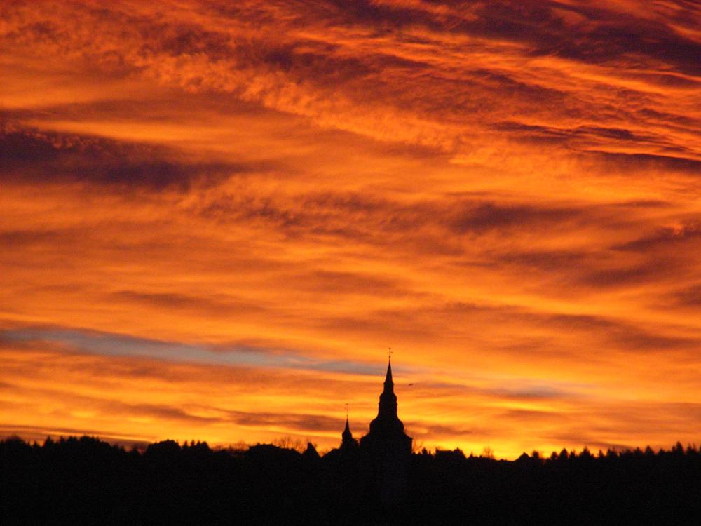 Sonnenaufgang über der Altstadt
