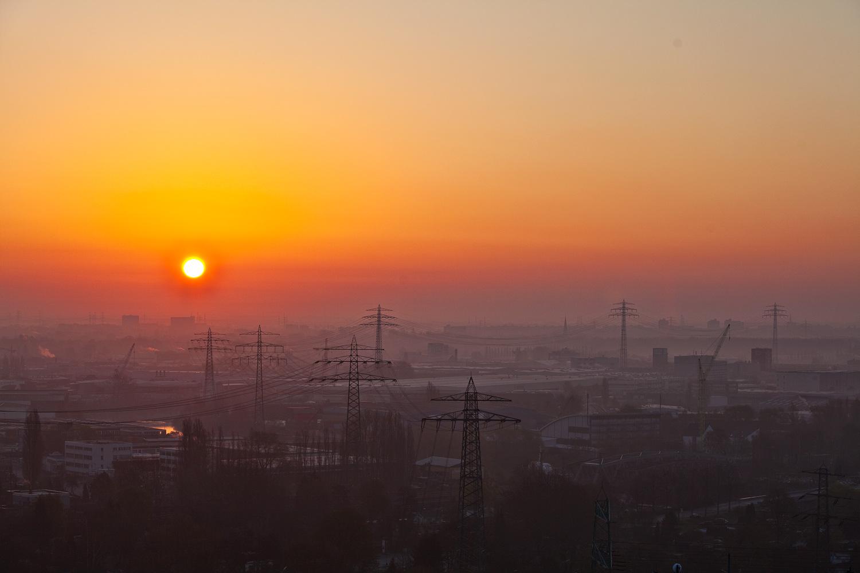 Sonnenaufgang über der Bilwerderbucht