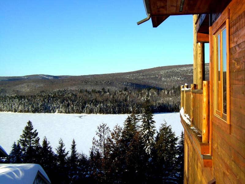 Sonnenaufgang über der Sacacomie Lodge