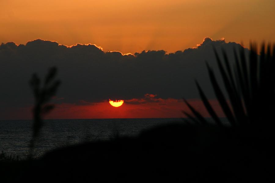 Sonnenaufgang über Duni (Bulgarien)