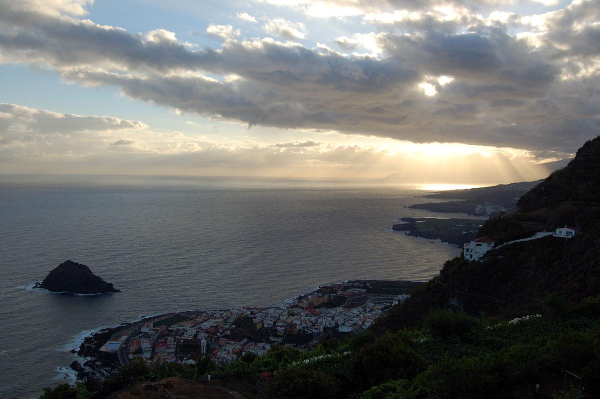 Sonnenaufgang über Garachico