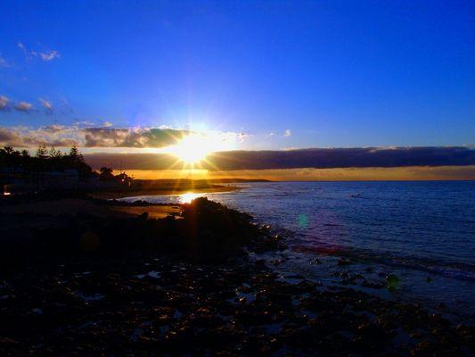 Sonnenaufgang über Gran Canaria