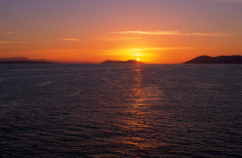 Sonnenaufgang über Ithaka