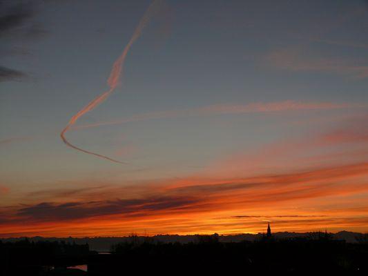 Sonnenaufgang über Konstanz