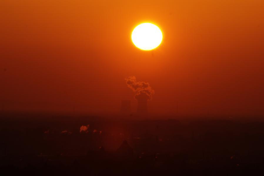 Sonnenaufgang über Landau (Pfalz)