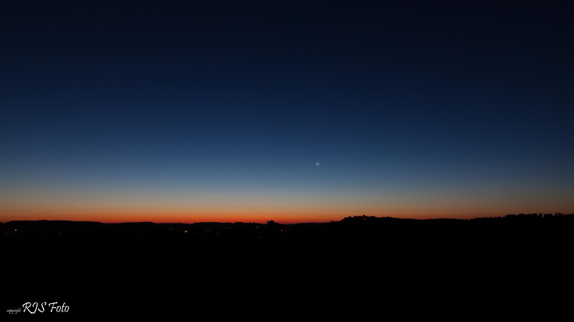 Sonnenaufgang über Landshut