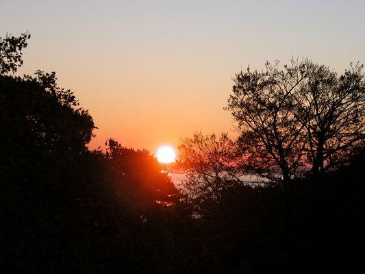 Sonnenaufgang über Polen