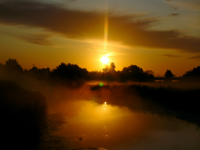 Sonnenaufgang über Rheder-Aa