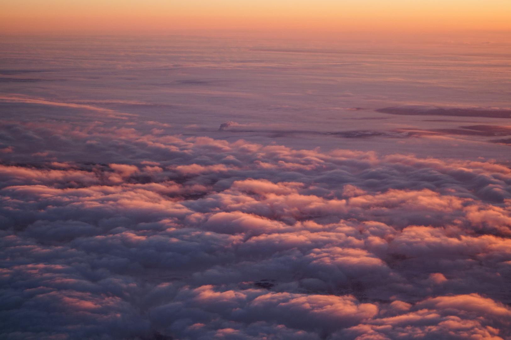 Sonnenaufgang über Schweden