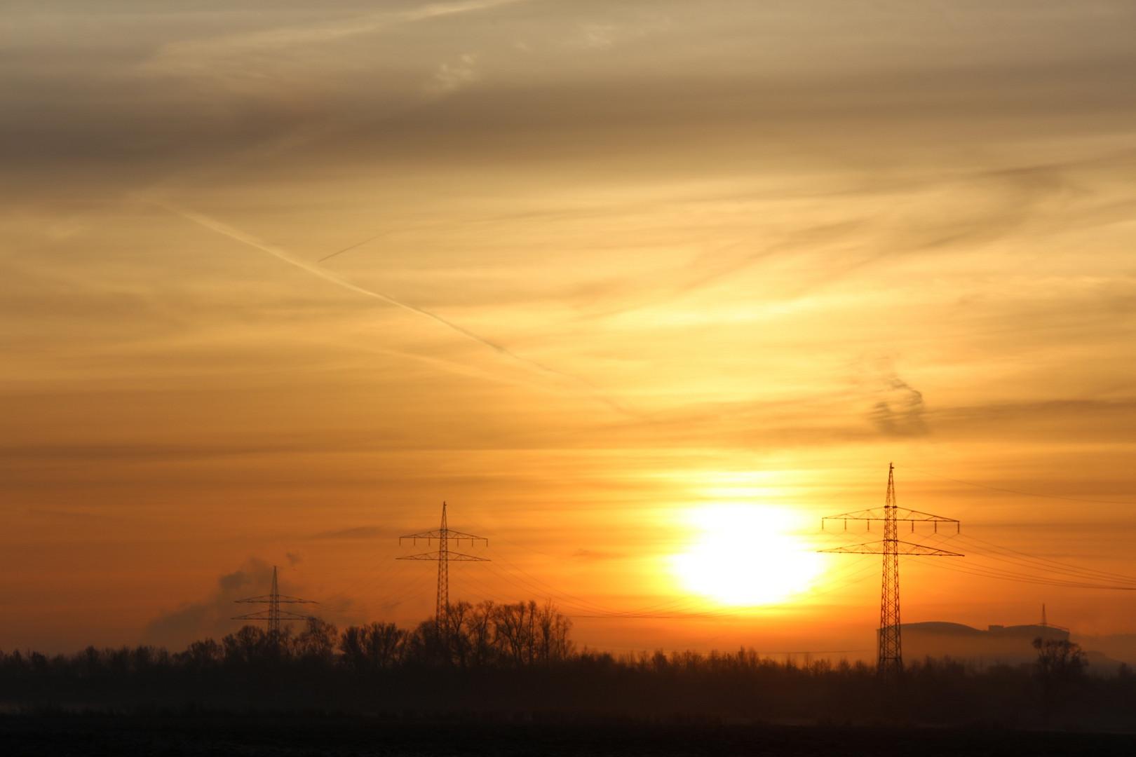 Sonnenaufgang über Zeil am Main!