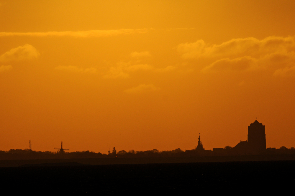 Sonnenaufgang über Zieriksee
