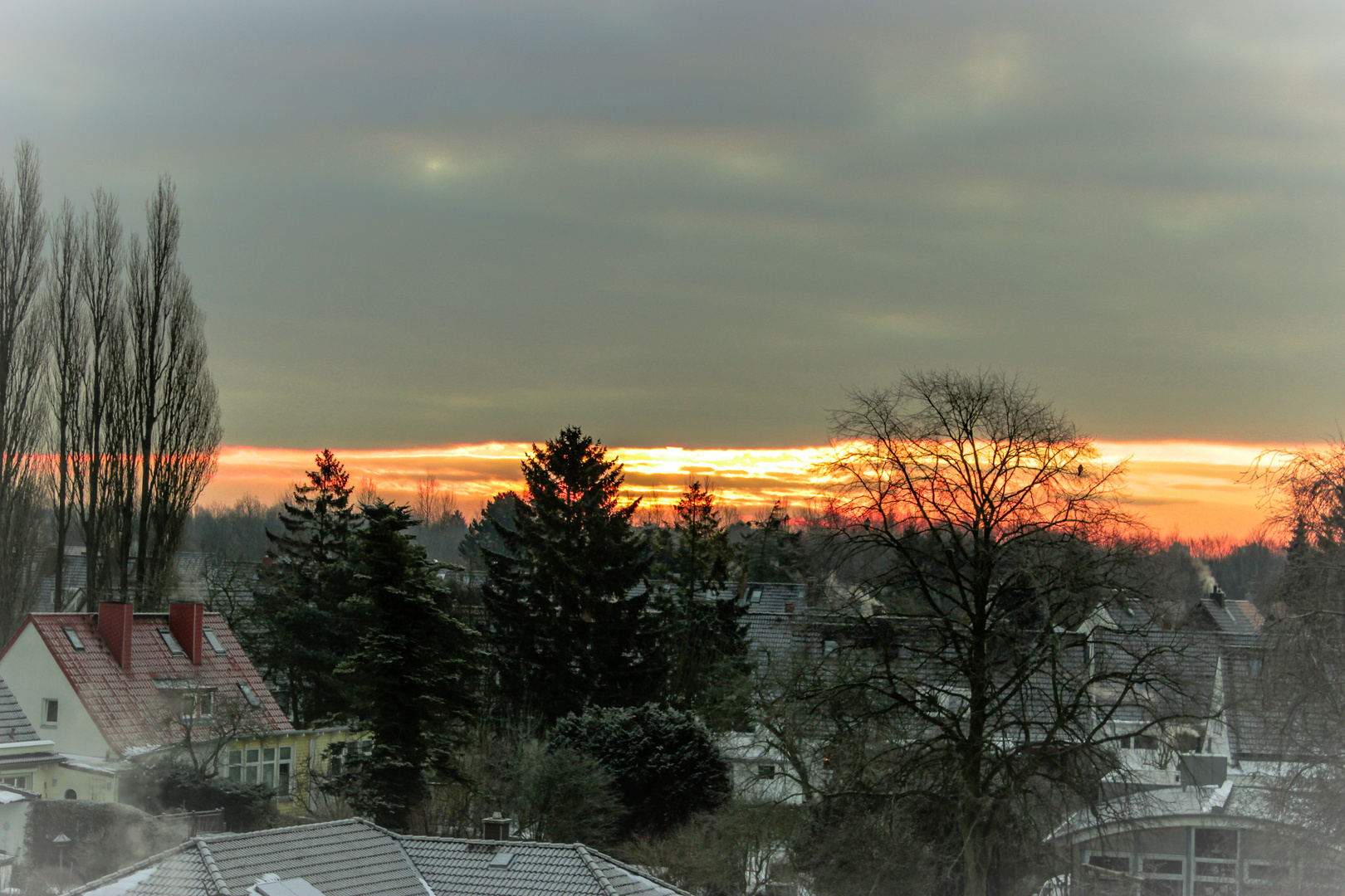 Sonnenaufgang üner Kiel