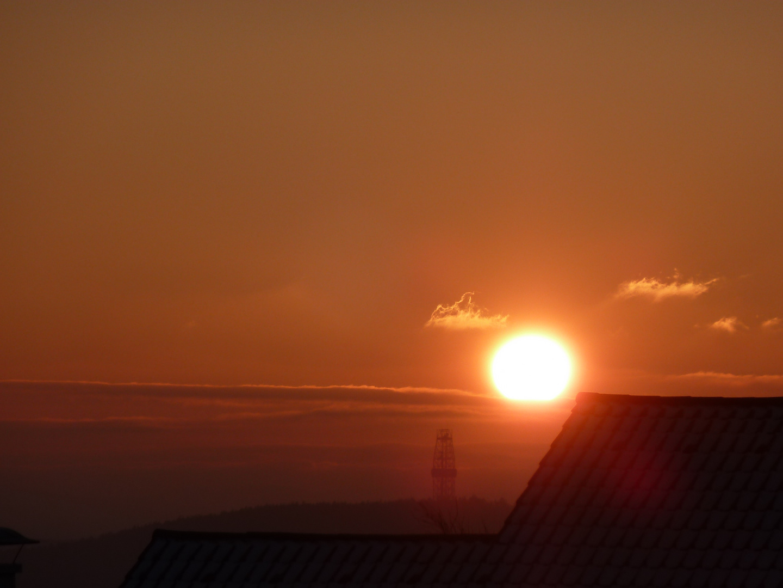Sonnenaufgang um Erbendorf