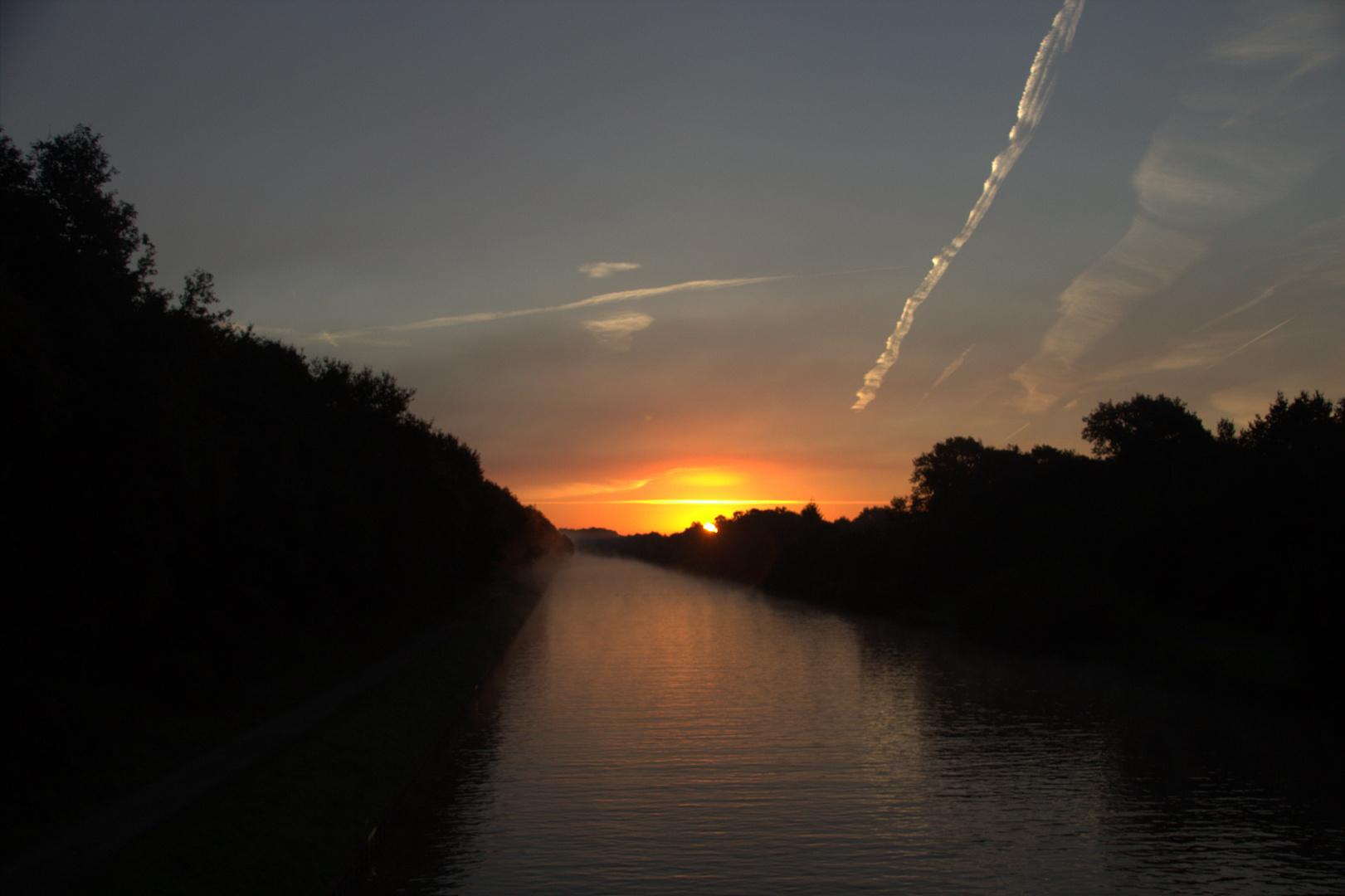 Sonnenaufgang und erste Test Polfilter