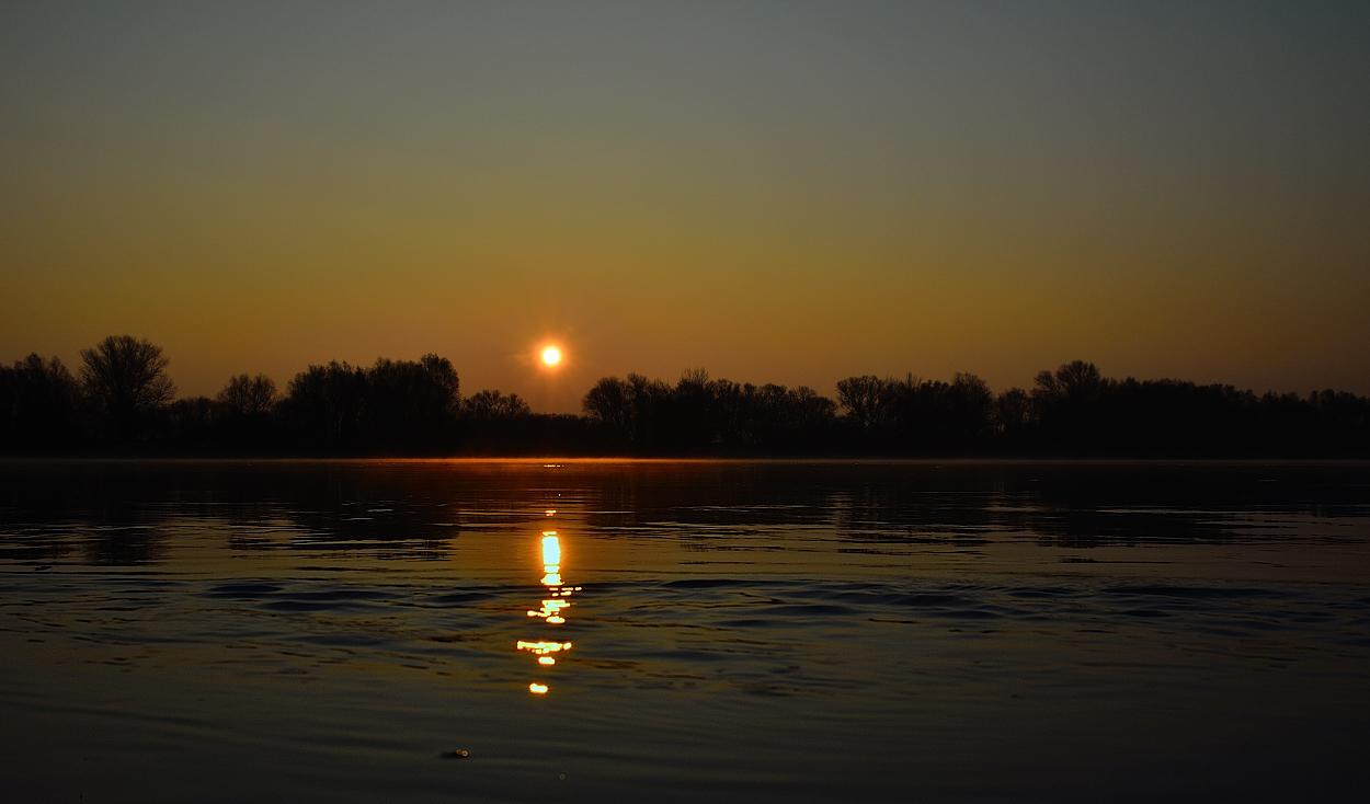 Sonnenaufgang vom 12. November