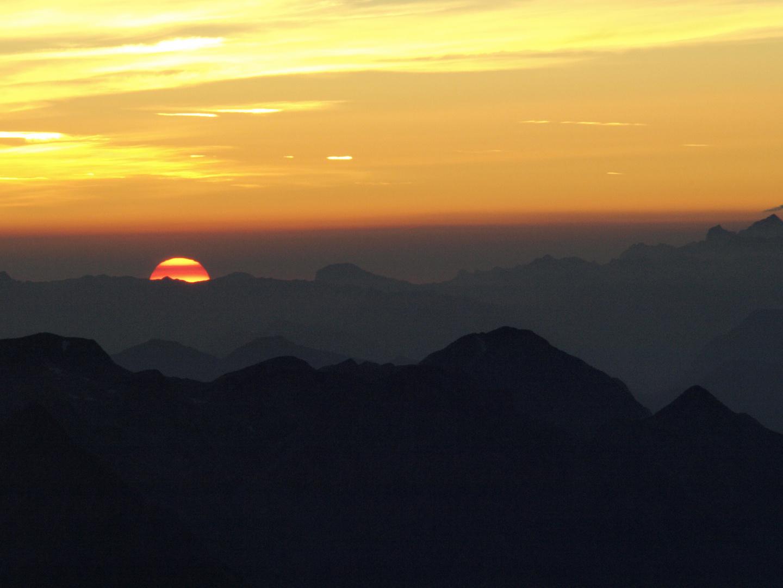 Sonnenaufgang vom Hochkönig