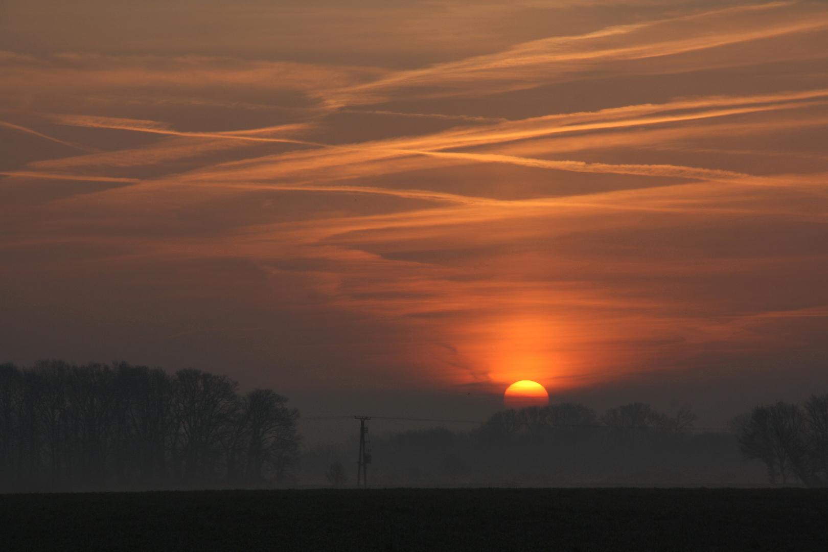 Sonnenaufgang von heute #2