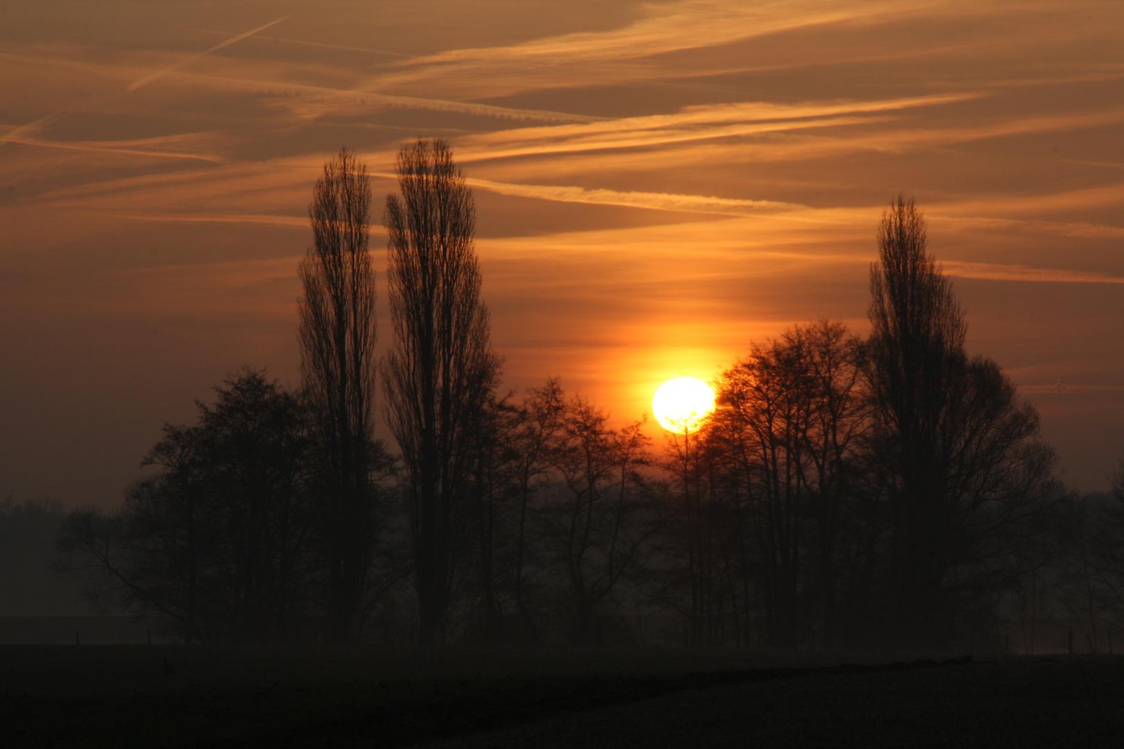 Sonnenaufgang von heute