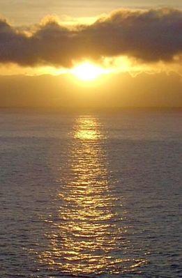 Sonnenaufgang vor Madeira
