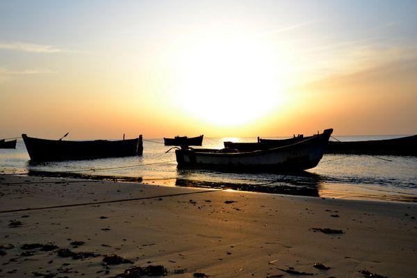 Sonnenaufgang vor Tuticorin
