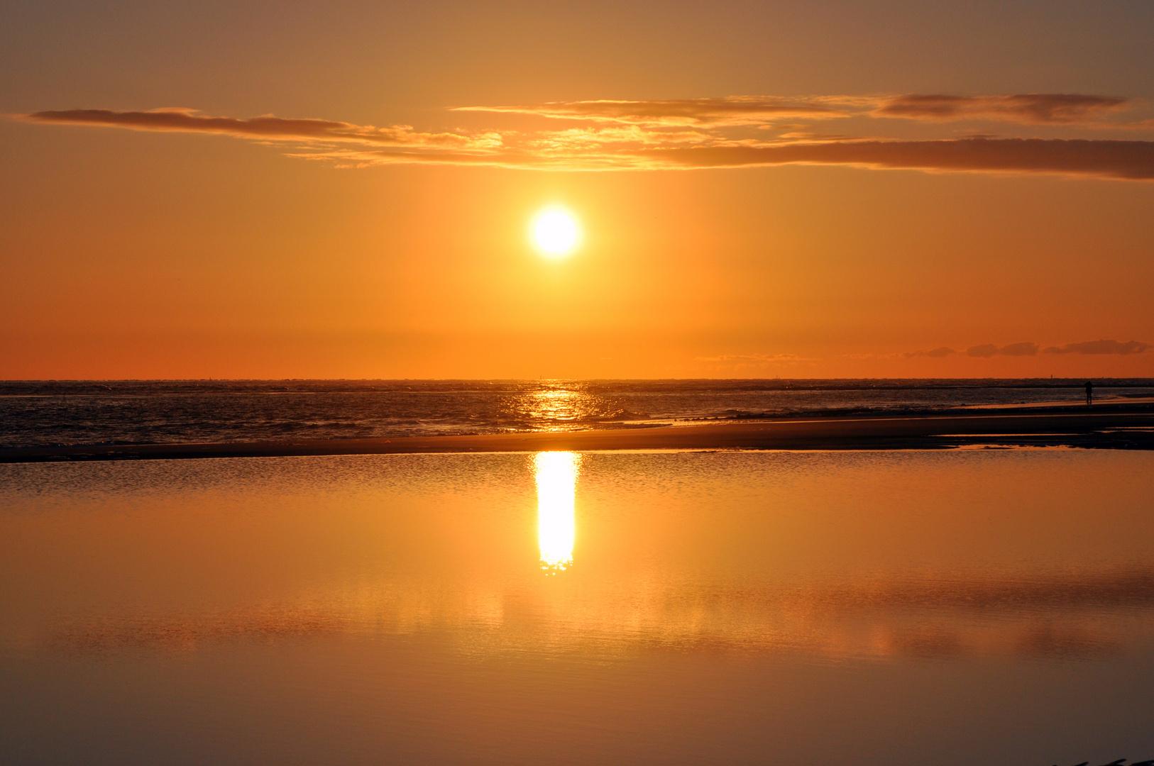 Sonnenaufgang Wangerooge 2