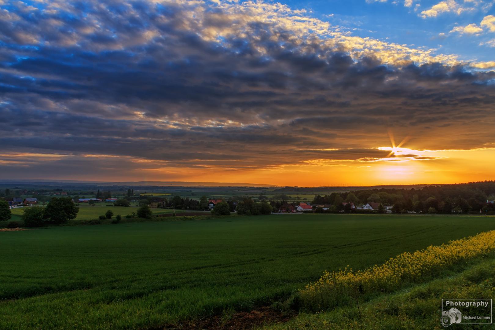 Sonnenaufgang Westerode