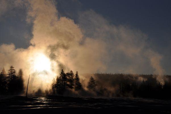Sonnenaufgang Yellowstone