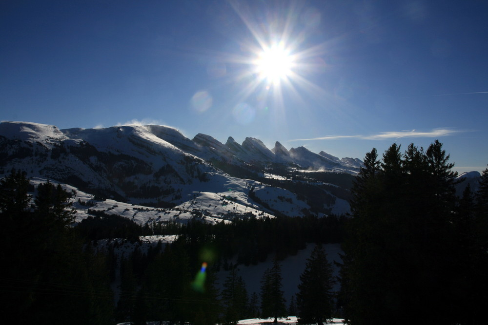 Sonnenberge - Bergsonne