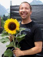 Sonnenblume für DJ BoBo