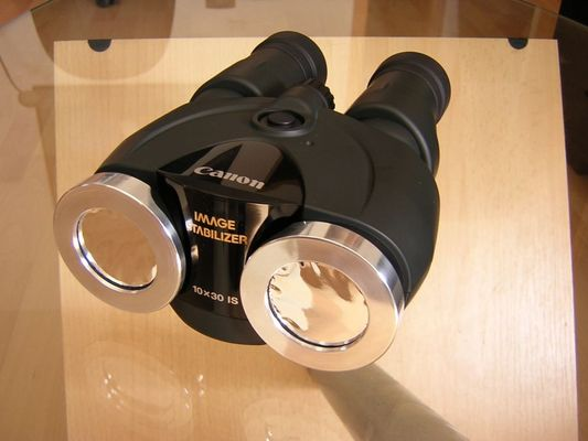 Sonnenbrille fuers Fernglas