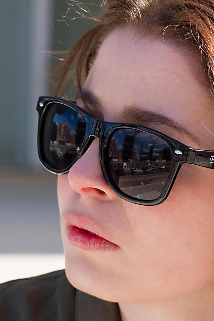 Sonnenbrille notwendig; endlich