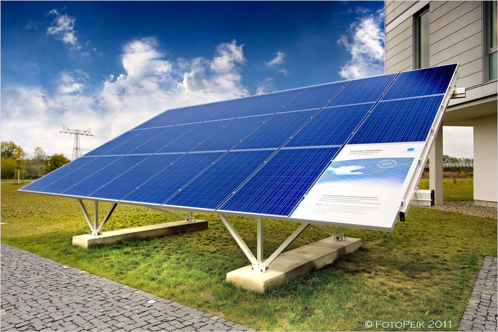 Sonnenenergie zum Anfassen