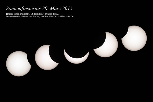 Sonnenfinsternis 20. März 2015 in Berlin