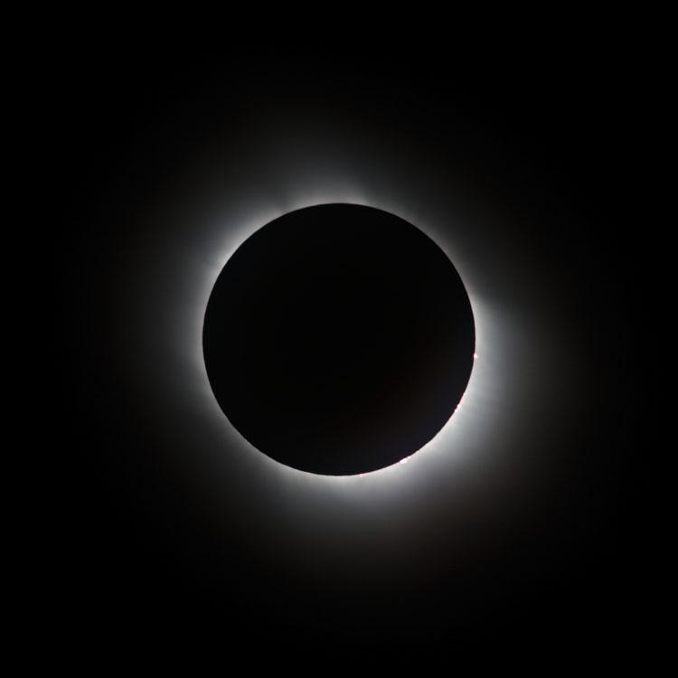 Sonnenfinsternis 2006 - Totalität 4