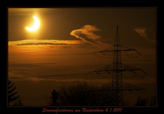 Sonnenfinsternis 2011