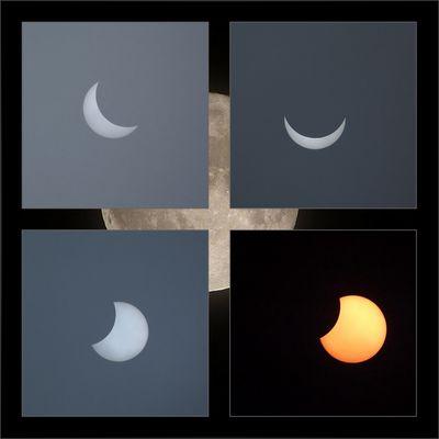 Sonnenfinsternis 20.3.2015.....wenn der Mondschatten die Sonne verdunkelt!