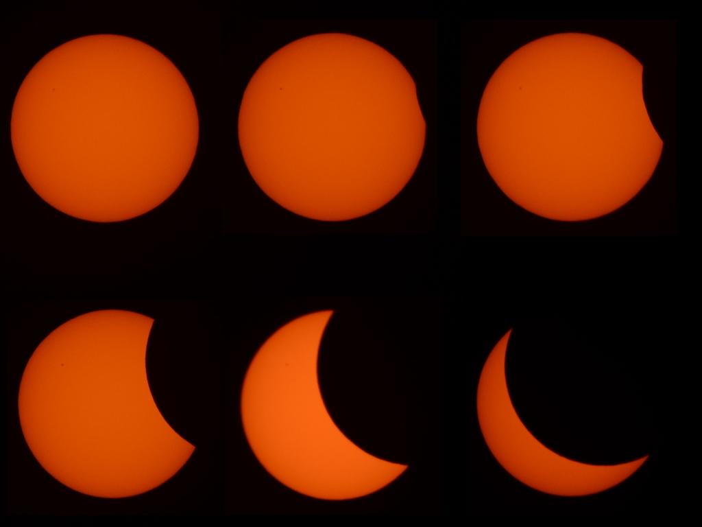 Sonnenfinsternis am 20.03.2015 über Hamburg