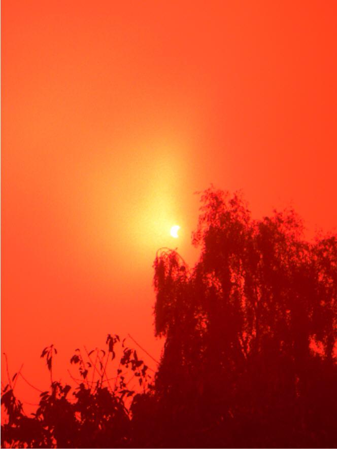 Sonnenfinsternis - Der Versuch