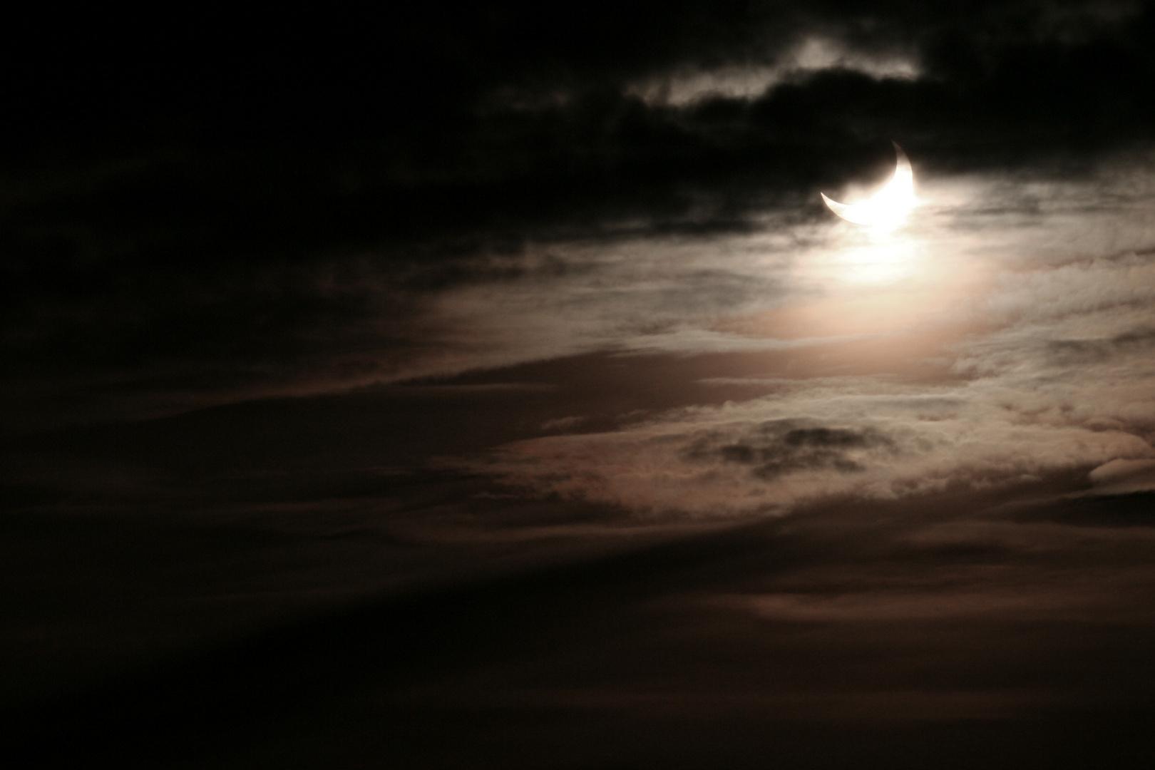 Sonnenfinsternis im Schwarzwald mit....